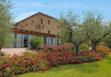 Villa Paradiso Village in Passignano sul Trasimeno, Garten