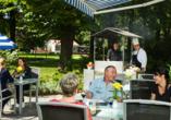 Ringhotel VITALHOTEL ambiente Bad Wilsnack in Brandenburg, Terrasse