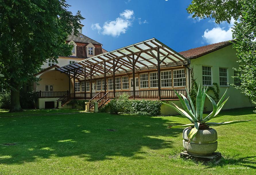 Ringhotel VITALHOTEL ambiente Bad Wilsnack in Brandenburg, Kurpark