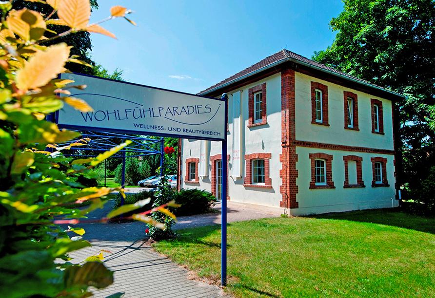 Ringhotel VITALHOTEL ambiente Bad Wilsnack in Brandenburg, Wellnessbereich