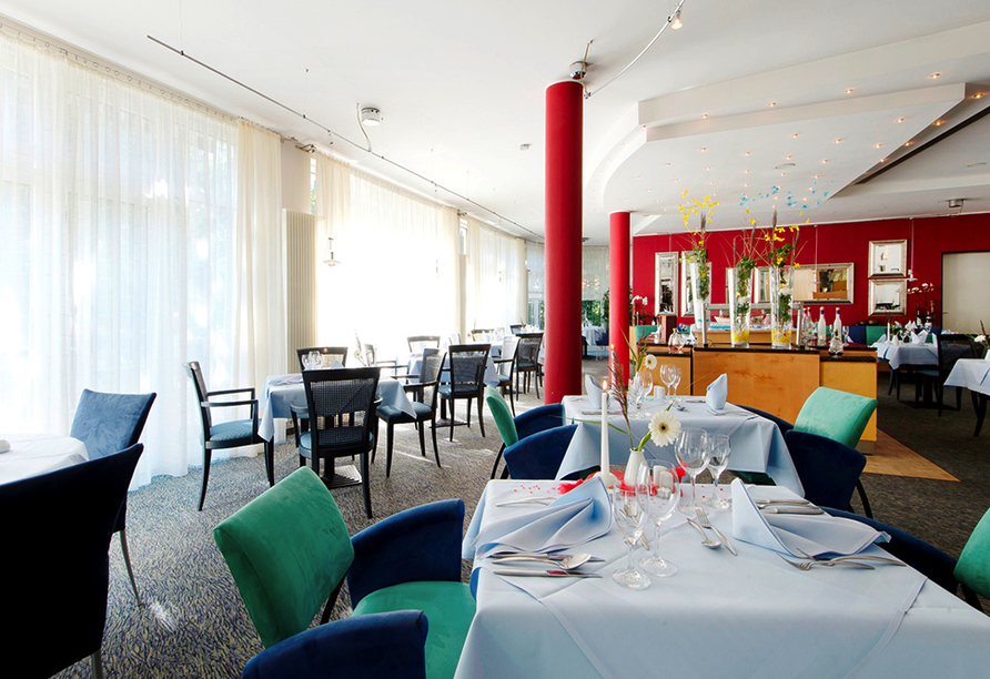 Ringhotel VITALHOTEL ambiente Bad Wilsnack in Brandenburg, Restaurant