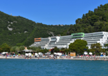 Hotel Hedera in Rabac in Kroatien, Außenansicht
