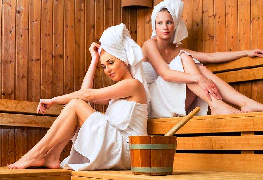 Hotel Hedera in Rabac in Kroatien, Sauna