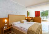 Hotel Hedera in Rabac in Kroatien, Zimmerbeispiel Superior Meerseite