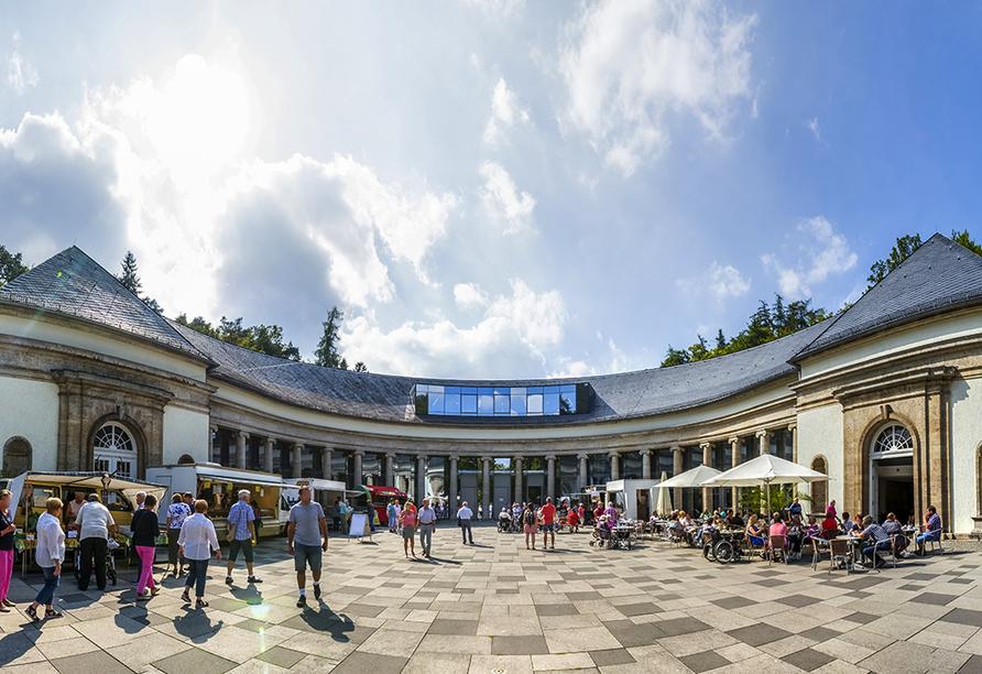Göbel's Hotel AquaVita in Bad Wildungen-Reinhardshausen, Wandelhalle