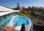 Göbel's Hotel AquaVita in Bad Wildungen-Reinhardshausen, Außenpool