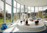 Göbel's Hotel AquaVita in Bad Wildungen-Reinhardshausen, Whirlpool