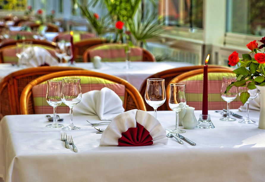 Parkhotel Am Glienberg, Terrasse
