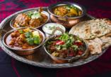Erlebnisreise Indien, Traditionelles Indisches Gericht