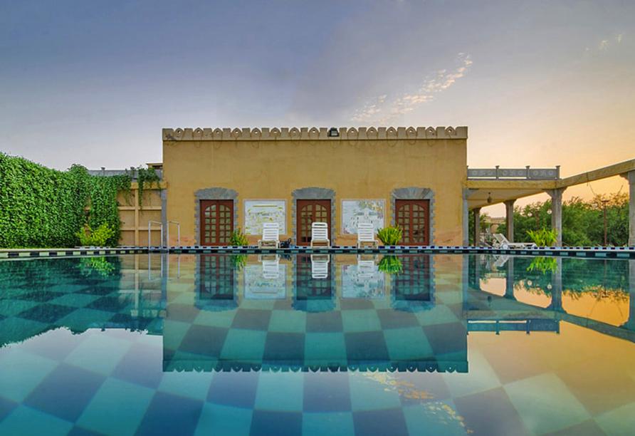 Erlebnisreise Indien, Hotel Dessert N Dunes