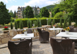 Hotel Villa Thea Bad Kissingen, Terrasse