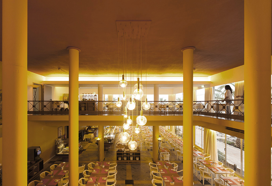 Hotel Vasco da Gama in Monte Gordo, Restaurant
