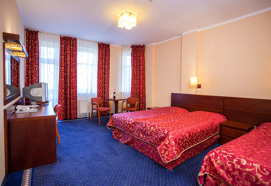 St. Lukas Sanatorium Hotel in Bad Flinsberg, Zimmerbeispiel