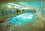 St. Lukas Sanatorium Hotel in Bad Flinsberg, Hallenbad