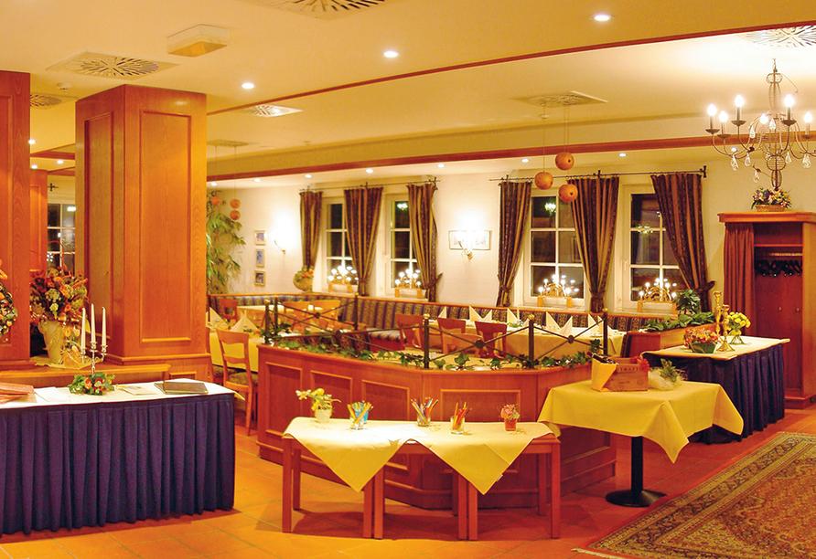 Panorama Berghotel Wettiner Höhe in Seiffen Erzgebirge, Restaurant