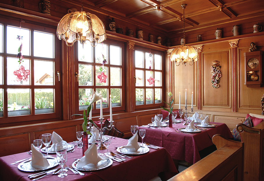 Best Western Hotel Brunnenhof in Weibersbrunn, Restaurant