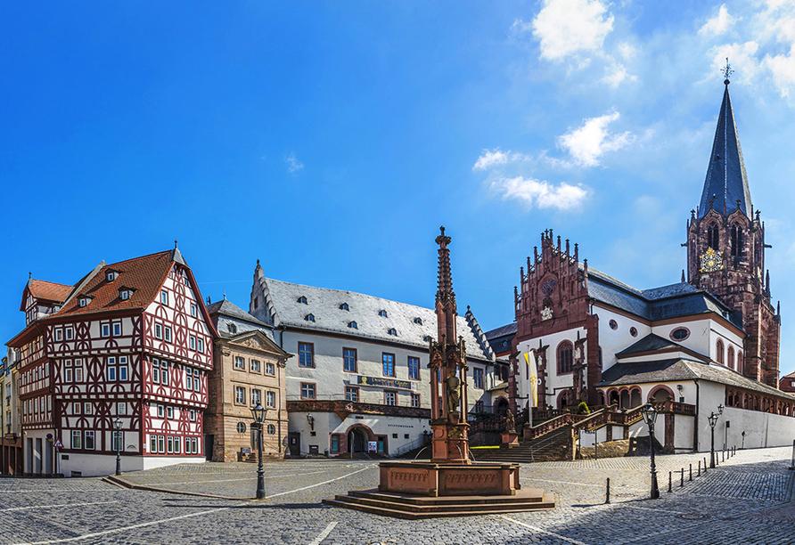 Best Western Hotel Brunnenhof in Weibersbrunn, Altstadt Aschaffenburg