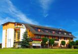 Hotel Willmersdorfer Hof Cottbus Spreewald Außenansicht