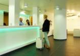 HB1 Design & Budget Hotel Wien-Schönbrunn, Rezeption
