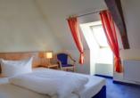 Hotel Gasthaus Zum Schwan in Oschatz, Beispiel Zimmer Nebenhaus