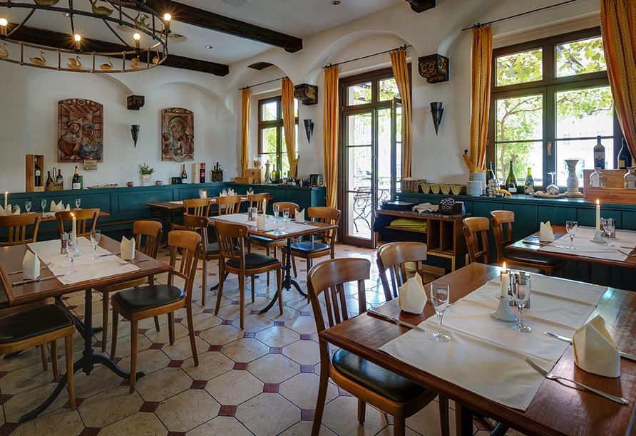 Hotel Gasthaus Zum Schwan in Oschatz in Sachsen Restaurant