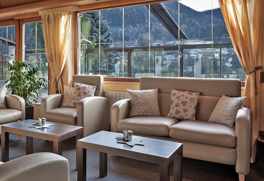 Hotel Koflerhof in Rasen, Lobby