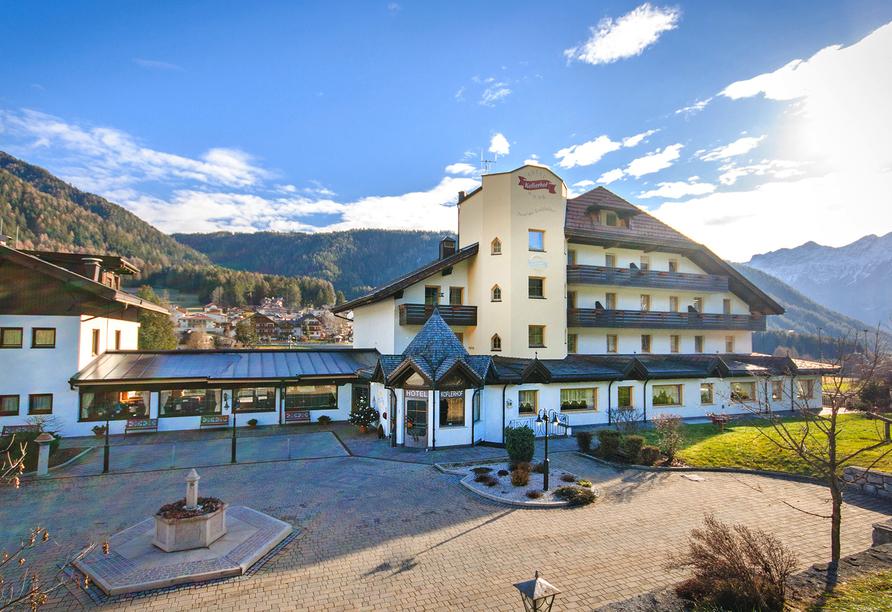Hotel Koflerhof in Rasen, Außenansicht