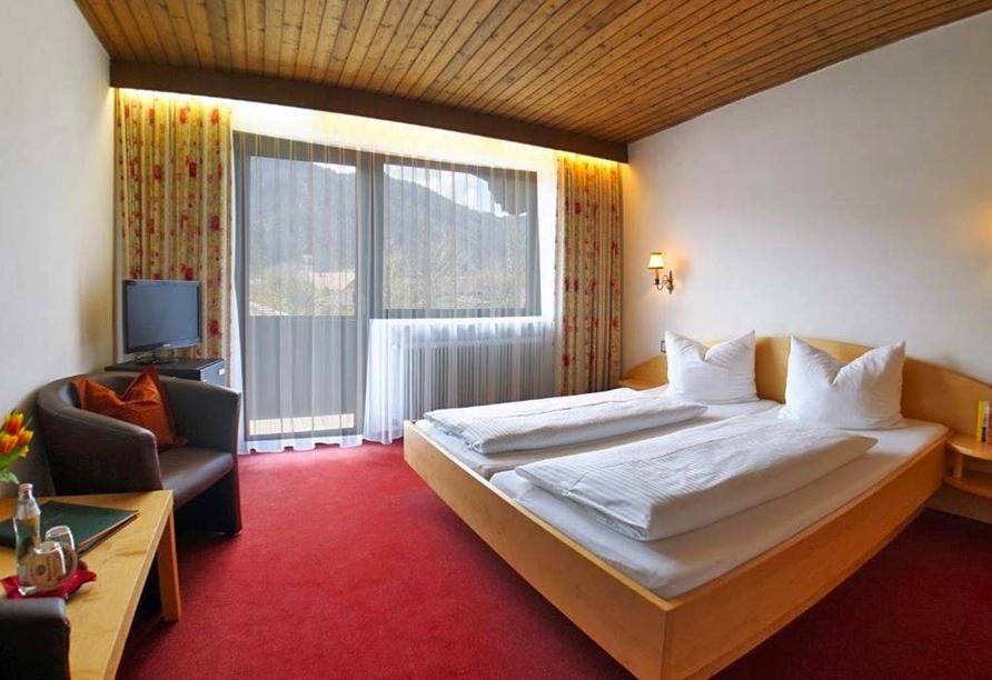 Gasthof Risserhof in Scharnitz Tirol Österreich, Zimmerbeispiel