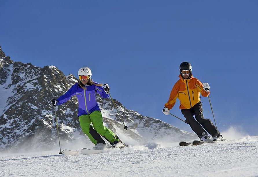 Gasthof Risserhof in Scharnitz Tirol Österreich, Skifahren