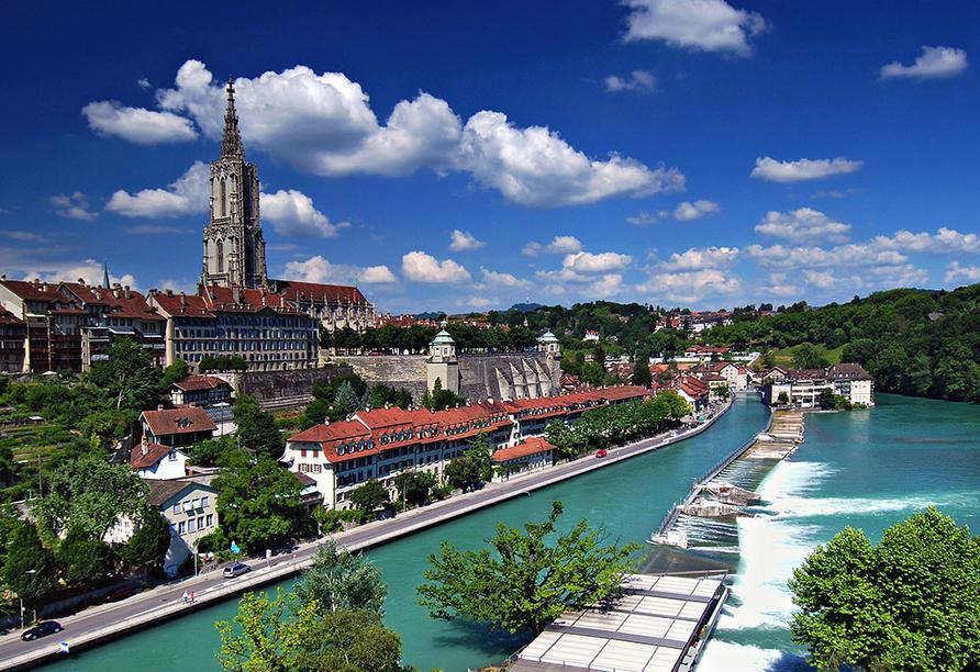 Hotel Dufour, Bien-Bienne, Schweiz, Bern