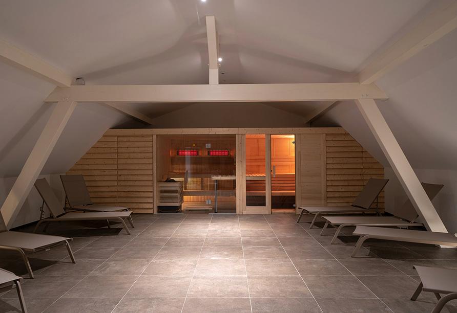 Hotel Majestic Alsace, Saunabereich