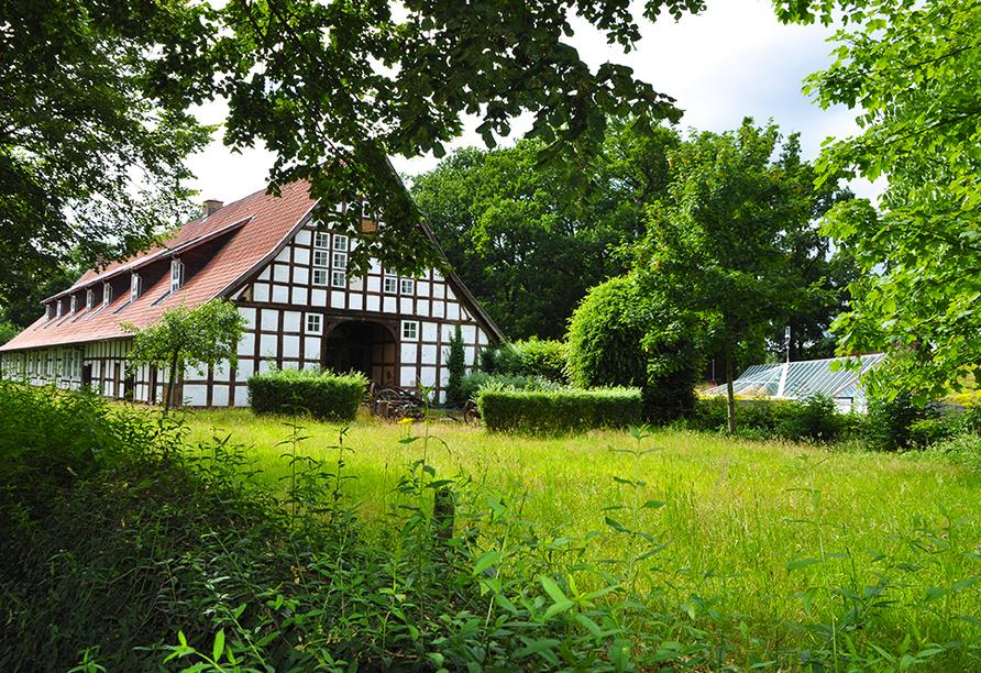 Hotel Saller See in Freren im Emsland Nebengebäude