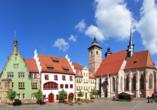 Aktiv & Vital Hotel Thüringen in Schmalkalden im Thüringer Wald Fachwerkhäuser