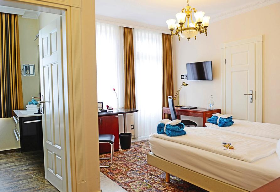 meergut HOTELS, Zimmerbeispiel