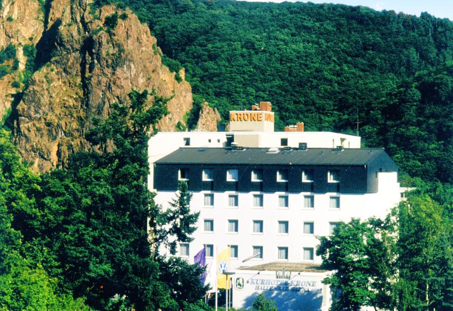 Hotel Krone Bad Münster am Stein, Außenansicht