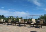 Hotel Emocja Uniescie Polnische Ostsee Terrasse