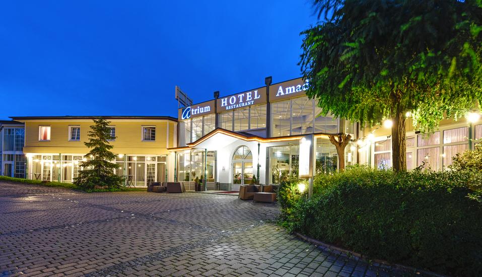 Atrium Hotel Amadeus, Osterfeld, Sachsen-Anhalt, Außenansicht