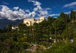 Kleinkunsthotel in Naturns, Südtirol, Italien, Schloss Trauttmansdorff