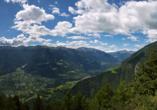 Kleinkunsthotel in Naturns, Südtirol, Italien, Panorama