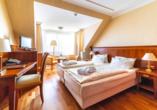 Hotel Hanseatischer Hof, Beispiel Komfortzimmer