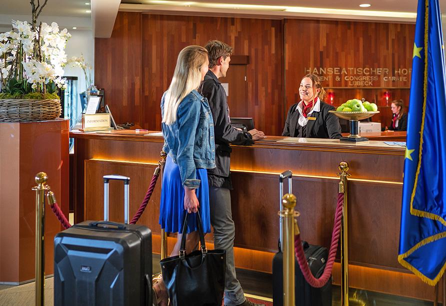 Hotel Hanseatischer Hof, Rezeption
