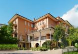 Hotel Panorama in Costermano, Außenansicht