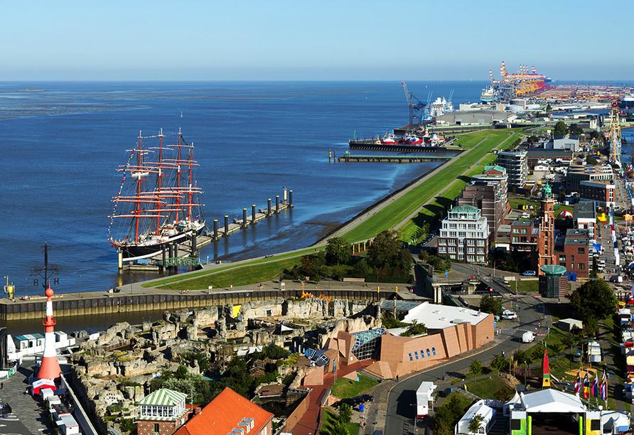 Nordsee Hotel Bremerhaven-Fischereihafen, Wesermündung