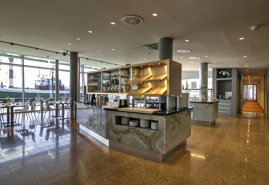 Nordsee Hotel Bremerhaven-Fischereihafen, Frühstücksraum