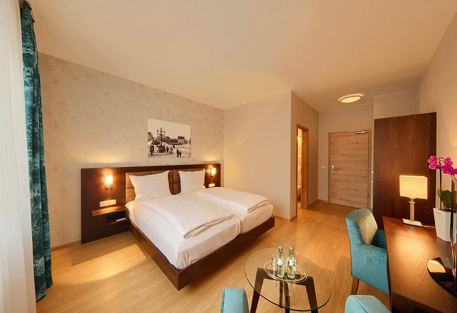 Hotel Brauhaus Zum Löwen, Beispiel Doppelzimmer Superior
