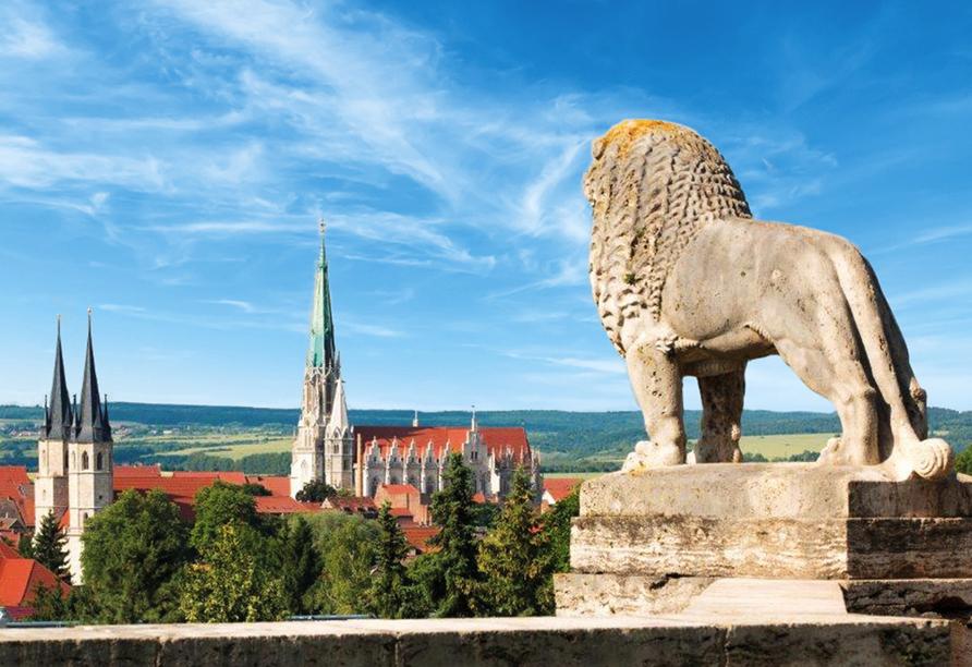Hotel Brauhaus Zum Löwen, Statue Löwe