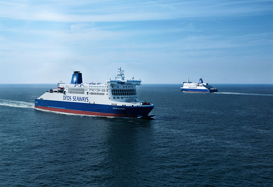 Autorundreise Südengland, DFDS Seaways