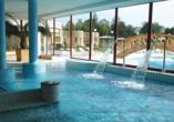 Hunguest Hotel Pelion in Tapolca, Schwimmbad innen