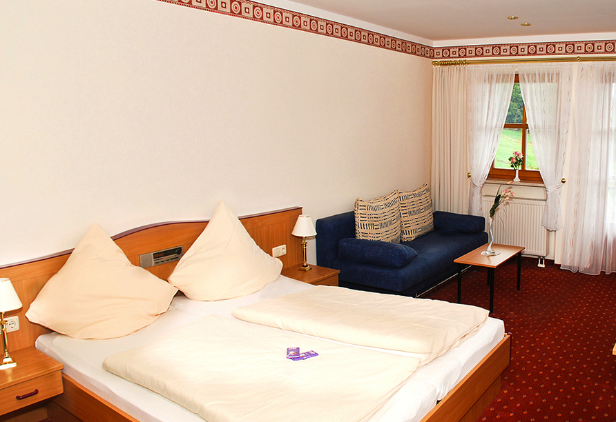 Ferienhotel Riesberghof in Lindberg, Zimmerbeispiel