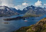 MS Nordkapp, Lofoten